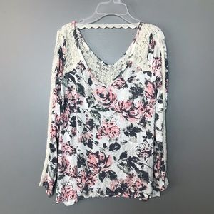 Abercrombie & Fitch Woman's Top Color Pink/Gray S